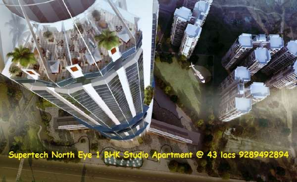Supertech north eye |9289492894| residential property in noida