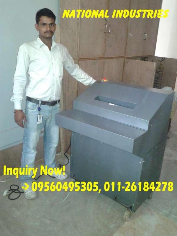 Paper shredding machine price in india - 8130198531