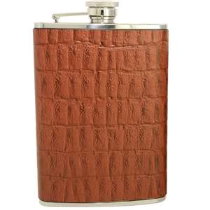 Get 30% off on luxury leather hip flasks