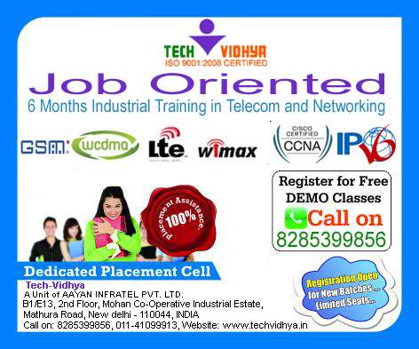 3g and 4g training with jobs oriented