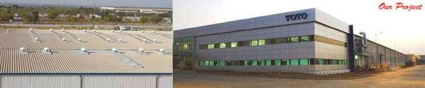 Prefabricated cabins-multicolor steels