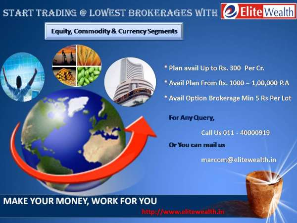 Open demat and trading account with low brokerages, call us @ 9650901058