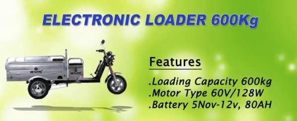 Battery operated loader 600 kg - devante