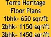 Terra HERITAGE Bhiwadi- 1/2/3 BHK flats for sale call 01143466499