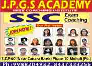 Coaching centre for ssc exam in mohali- jpgs academy