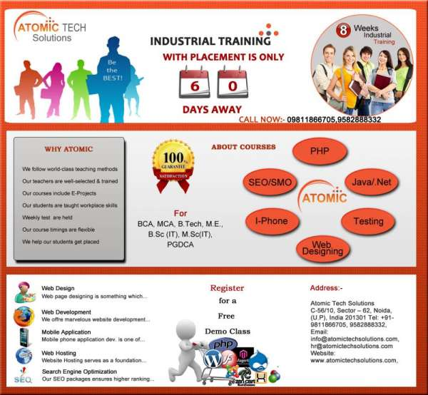 Atomic job oriented summer training program