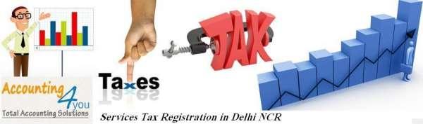 Services tax registration in delhi ncr
