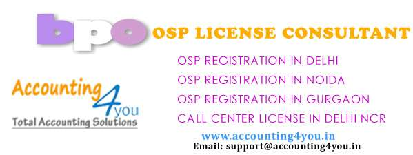 Dot osp license call center delhi id
