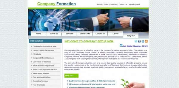 Register a new private limited company in india - www.companysetupindia.com