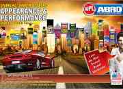 Abro-Car care products India  Aipl Abro is a car care product company.
