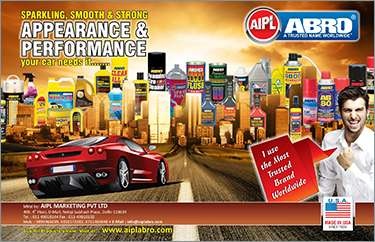 Abro-car care products india (appearance and performance)