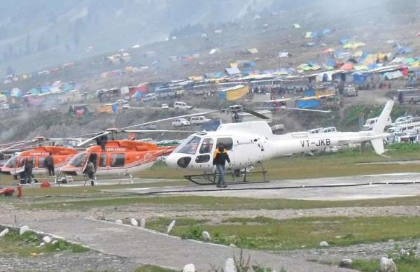 Amarnath yatra 2014 helicopter booking