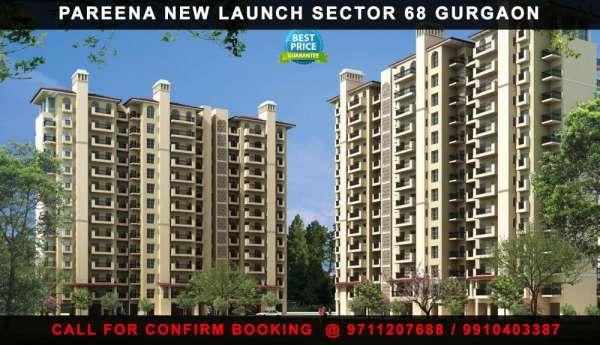 Pareena pre launch sector 68 @ 8468003302