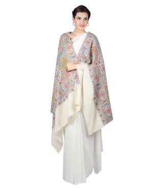 Luxury embroiderey pashmina shawls online