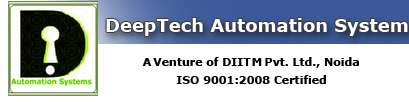 Deeptech automation system pvt ltd plc offer plc, automation training noida