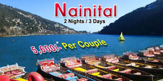 Nainital tour packages, nainital holiday packages, nainital hotel packages