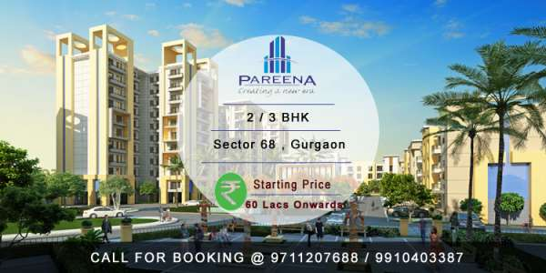 Pareena new project gurgaon @ 8468003302