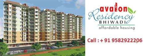 Avalon residency phase - 1, resale 2bhk 850 sqft at 23 lacs sector 32 bhiwadi, rajasthan