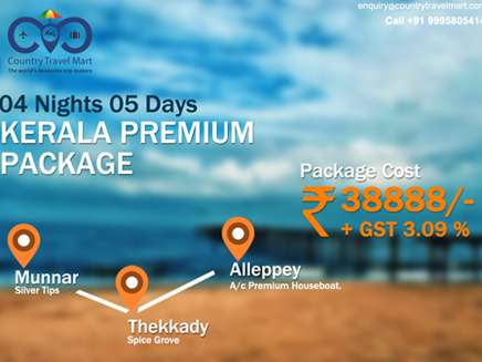 4 night 5 days premium kerala tour package