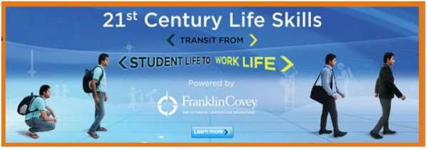 Iacm - franklincovey 21st century life skills program transit from students life to work l