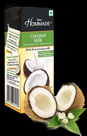 Dabur hommde coconut milk- add magic to your coconut milk recipes