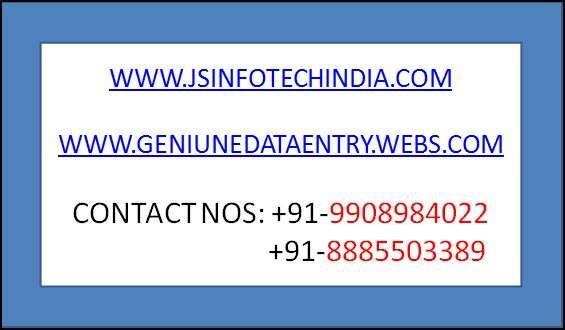 Individuals and companies setup works available with j s infotech