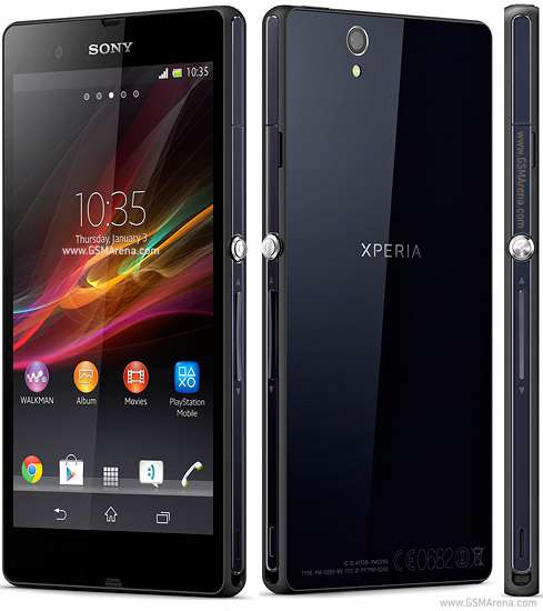 Sony xperia z logy. the xperia z strives not to run out of battery when you need it the m