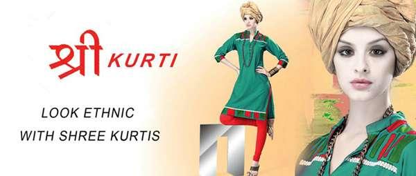 Buy designer and elegant shree kurtis online