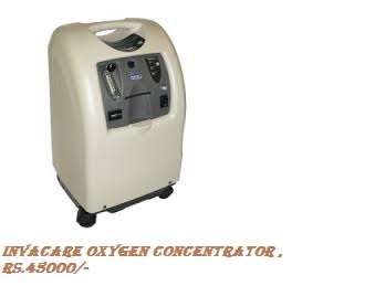 Airsep invacare oxygen concentrator on rent in noida