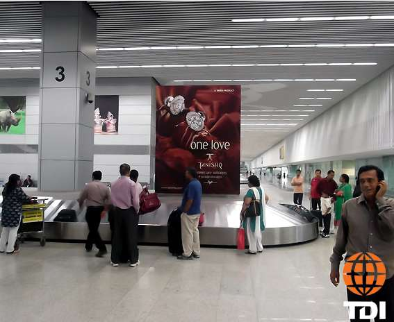 Put up your brand at tdi metro stations for high impact visibility