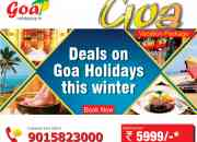 Celebrate Diwali in GOA 3N/4D tour Package Starts@5999