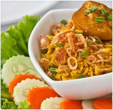 How to ready yummy thai chicken biriyani