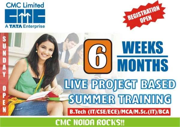Summer training at cmc