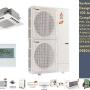 (746) PLAA42BA4-PUYA42NHA4 - Mitsubishi Mr.Slim 42,000 BTU 14.4 SEER Ceiling Cassette Duct