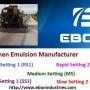 Bitumen Emulsion Manufacturer and Supplier