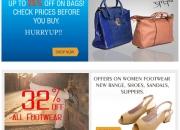 Exclusive range of women footwear online
