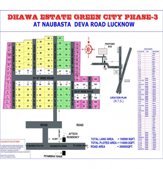 Free hold plot availabal in lucknow