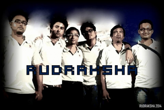 Rudraksha band.