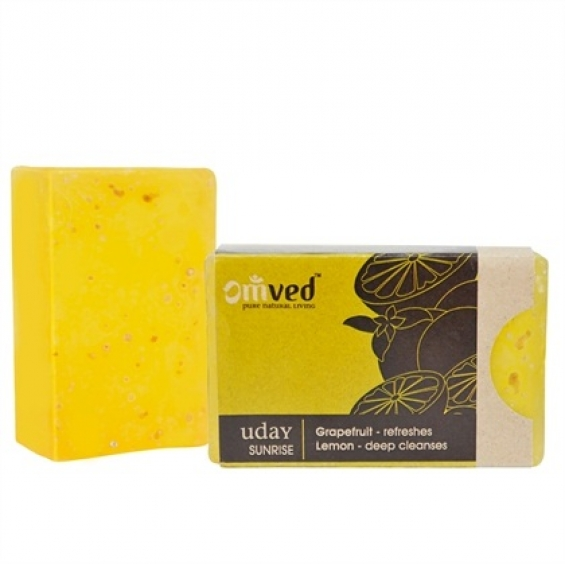 Uday grapefruit lemon bathbar