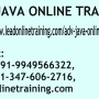 ADV JAVA Online Training | ADV JAVA basis Online Training in usa, uk, Canada, Malaysia, Au