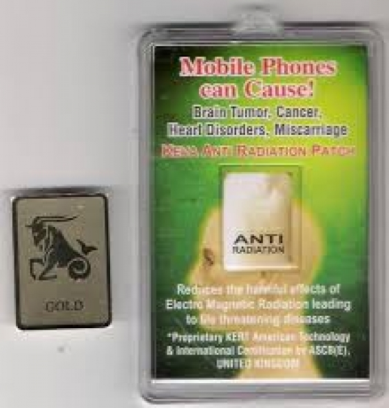 Safty anti radiation chip