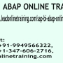 SAP BI ABAP Online Training | SAP BI ABAP basis Online Training in usa, uk, Canada, Malays