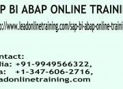 SAP BI ABAP Online Training | SAP BI ABAP basis Online Training in usa, uk, Canada, Malays