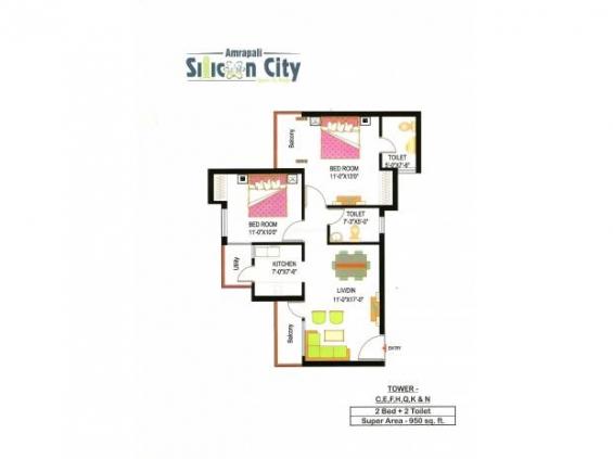 Urgent sale - amrapali silicon city sector-76, noida