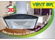 WWW.VENTAIRINDIA.COM - Best Kitchen Chimney with BAFFLE Filter & Autoclean