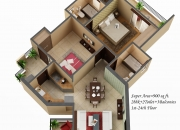 2 BHK Homes Flats @ 91-8130911116@, Amaatra Homes Greater noida west Flats
