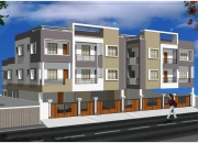 CMDa Approved 1BHK with main road facing Flats in Kovur