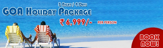 Colorful vacations- goa holiday packages