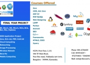 Final Year Project and Internship in Yelahanka | Bangalore