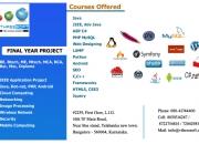 Final year project and internship in yelahanka | …